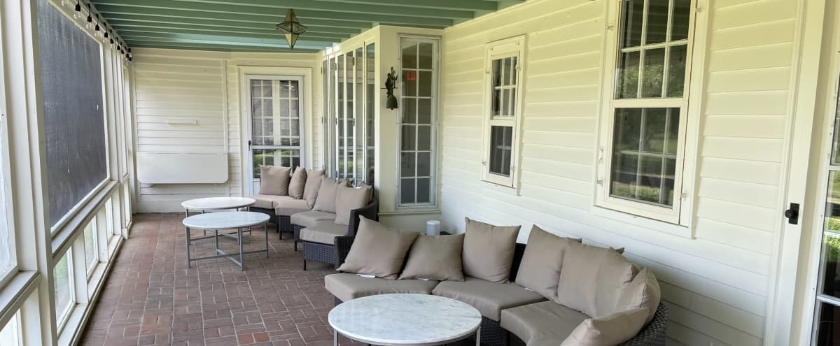 Patio Space at Historic North Shore Estate in South Hamilton Hero Image in undefined, South Hamilton, MA