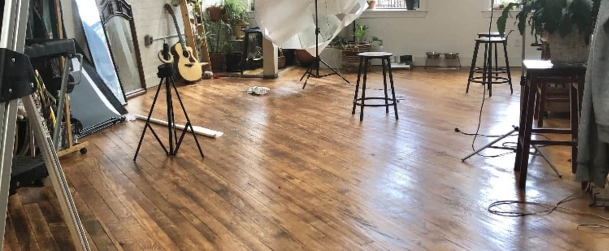 Natural Light Studio in Boho Bushwick Loft in Brooklyn Hero Image in Bedford-Stuyvesant, Brooklyn, NY