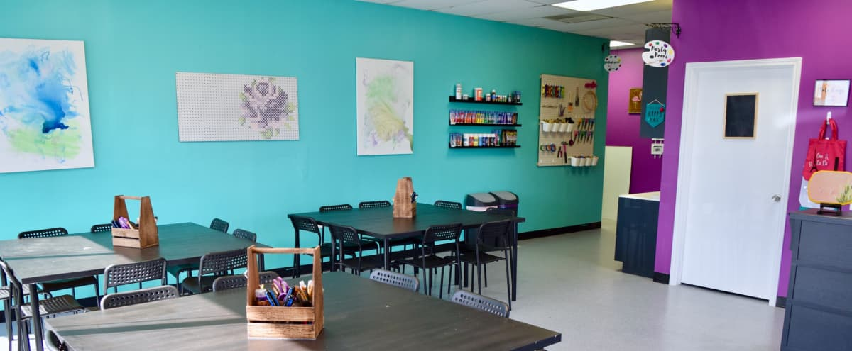 Colorful Craft Studio for Meetings and Workshops in Central Austin in Austin Hero Image in North Loop, Austin, TX