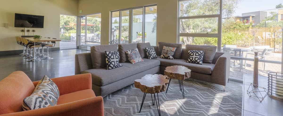 Off-site Lounge & Sports Room with Outdoor Space in San Mateo Hero Image in East San Mateo, San Mateo, CA