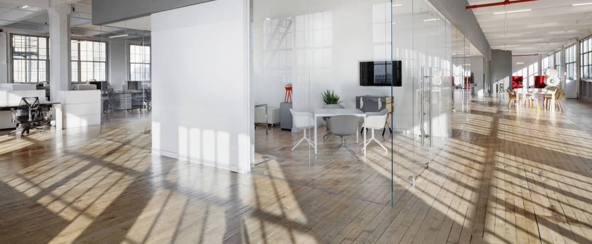 Large Brooklyn Studio Space with Magnificent Views of Downtown Manhattan and the Statue of Liberty in Brooklyn Hero Image in Greenwood, Brooklyn, NY