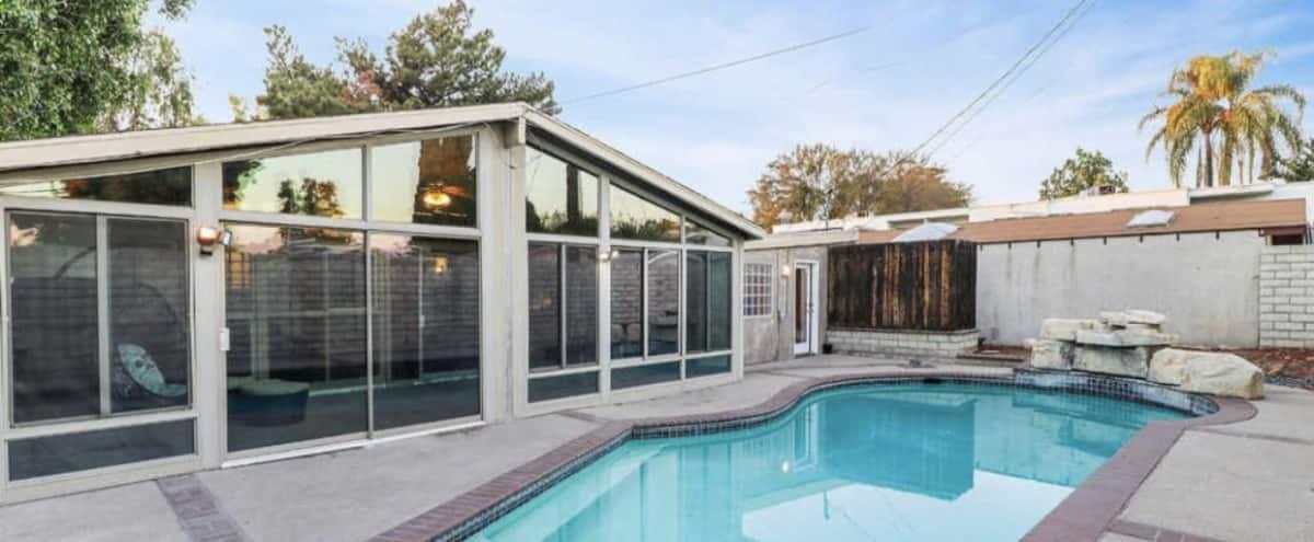 Entire Private pool house  4+2 with outside unit in Reseda Hero Image in Reseda, Reseda, CA