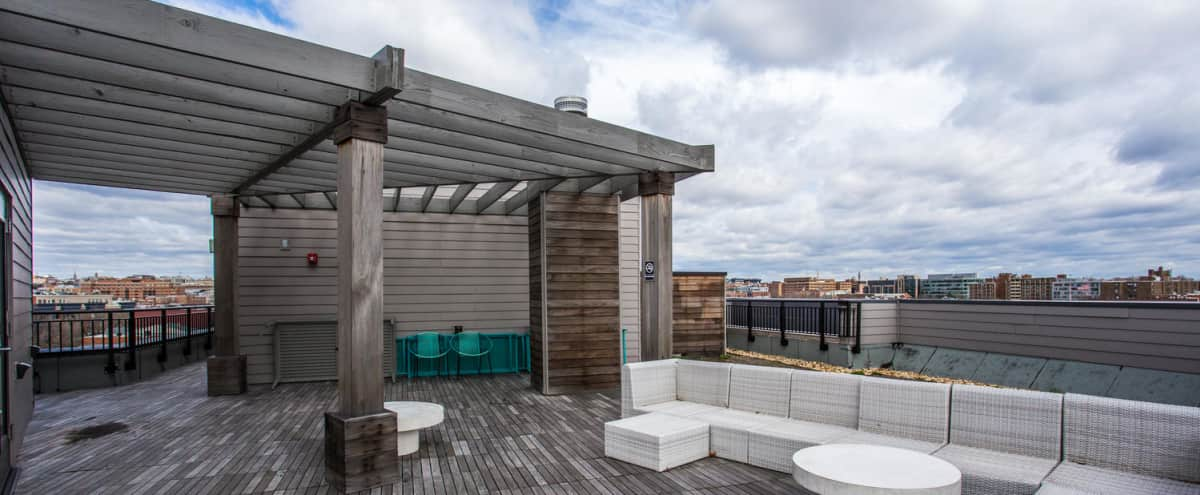 Rooftop Terrace with a gorgeous city view in Washington Hero Image in Logan Circle, Washington, DC