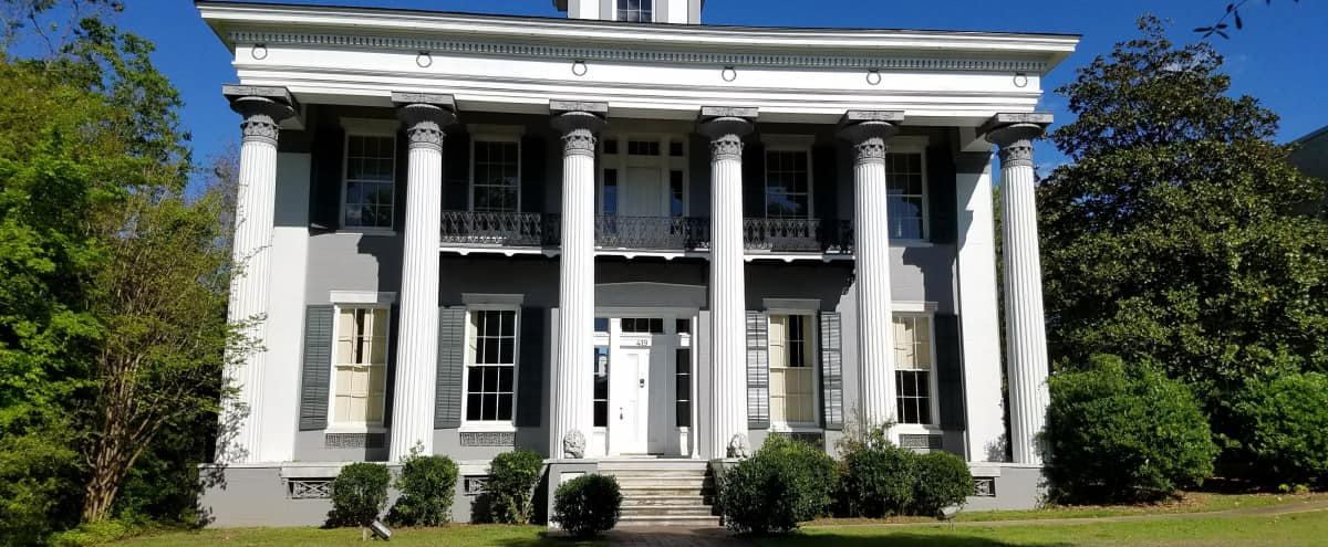 Stunning Antebellum Greek Revival Mansion in Montgomery Hero Image in undefined, Montgomery, AL