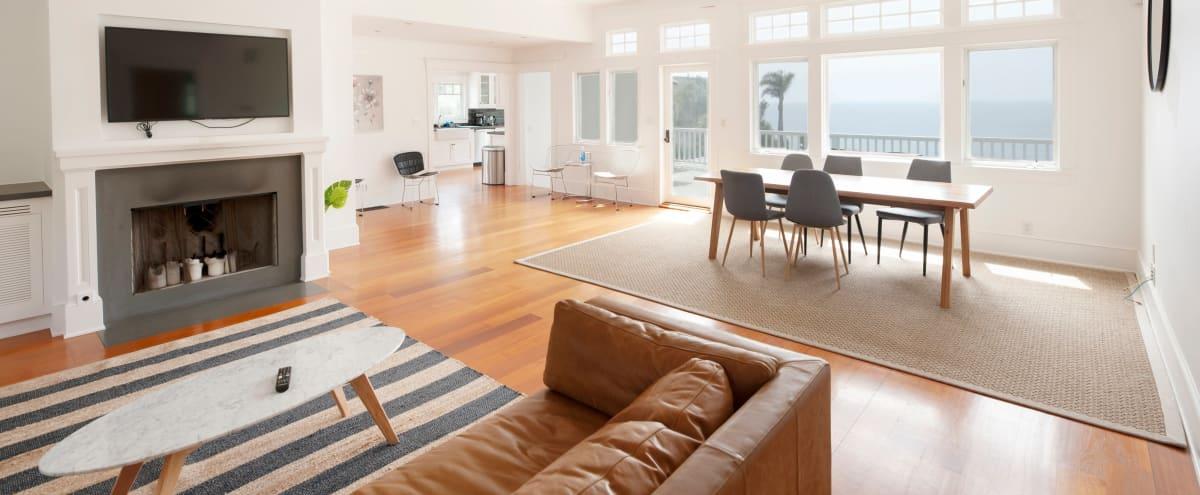 Ocean Front Mansion with 1 Acre Lawn in Malibu Hero Image in Central Malibu, Malibu, CA