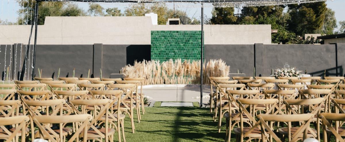 Modern-Minimalist Backyard Venue | The Cairo House in Tempe Hero Image in Shalimar, Tempe, AZ