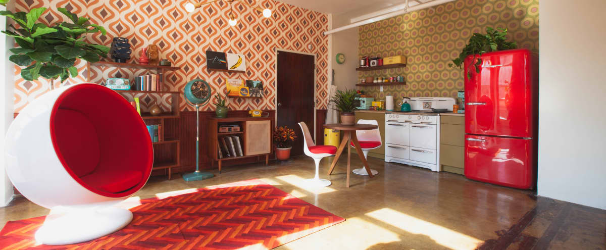 1960s Retro DTLA Loft w/ Kitchen in Los Angeles Hero Image in Central LA, Los Angeles, CA