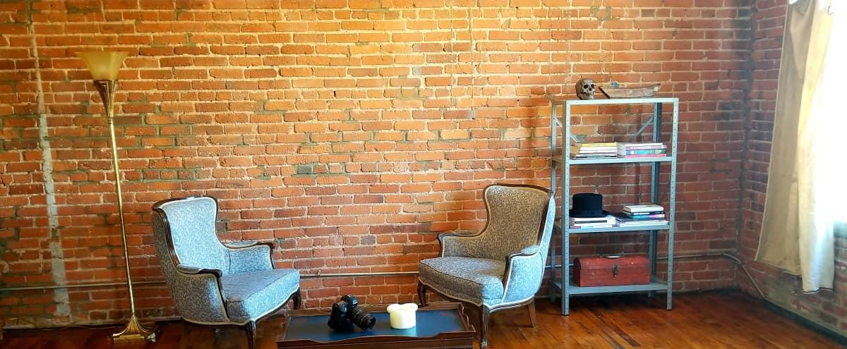 BEST Industrial Bohemian Loft DTLA - exposed brick & antique furniture in Los  Angeles Hero Image - BEST Industrial Bohemian Loft DTLA - Exposed Brick & Antique