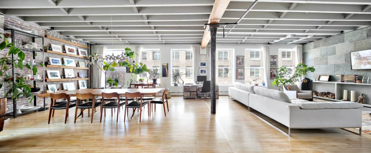 Sun Drenched Meticulously Designed Lower East Side Loft in New York Hero Image in Lower Manhattan, New York, NY