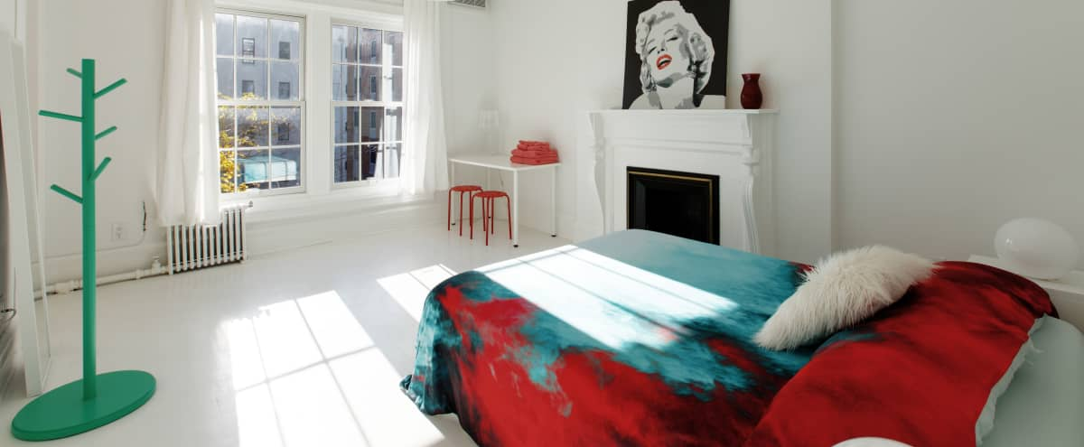 Great White Canvas Apt for shootings and meetings in new york Hero Image in Harlem, new york, NY