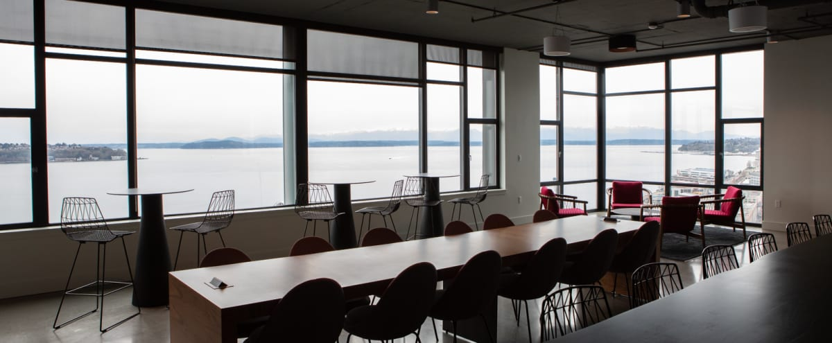 Stunning Elliot Bay Space - Water, Mountain and Dock Views ! in Seattle Hero Image in Central Business District, Seattle, WA