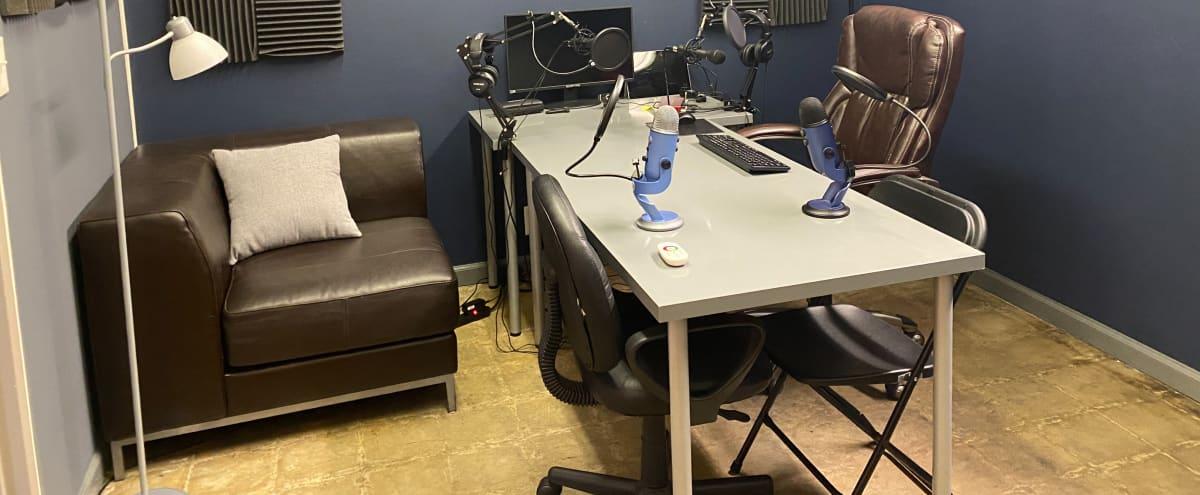 Podcast Studio in Central Atlanta in Atlanta Hero Image in Pittsburgh, Atlanta, GA
