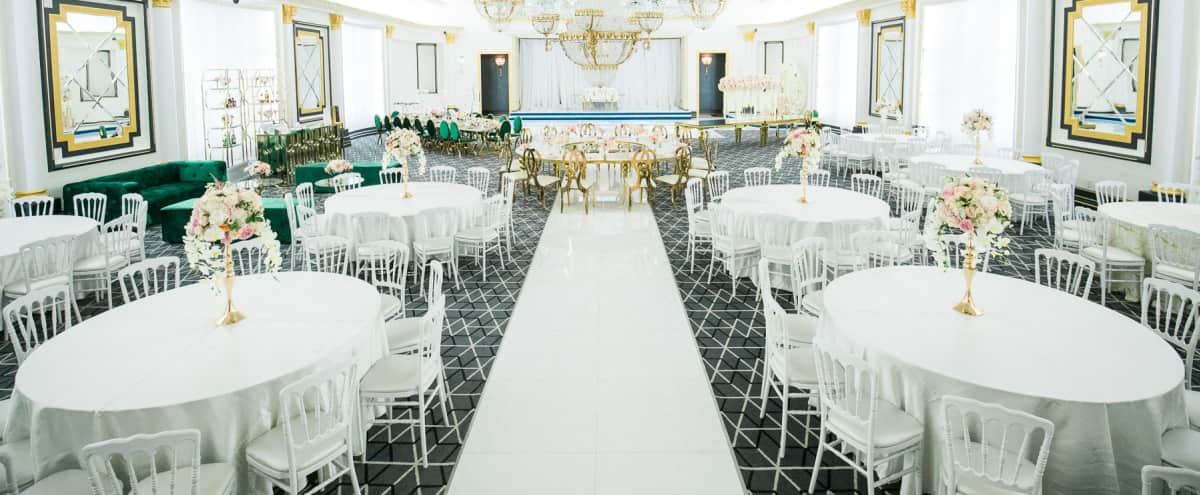 Upscale Chic Event Venue with Foyer and Patio in Pasadena Hero Image in North Central, Pasadena, CA