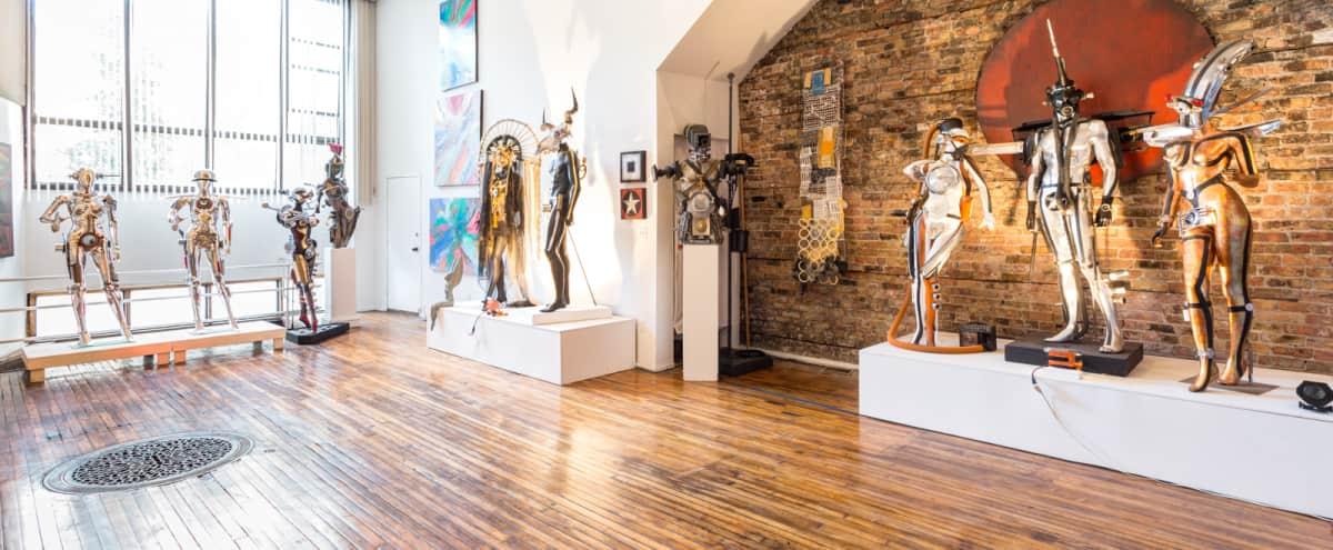 Unique Pilsen Gallery Filled with Contemporary Sculptures in Chicago Hero Image in Pilsen, Chicago, IL