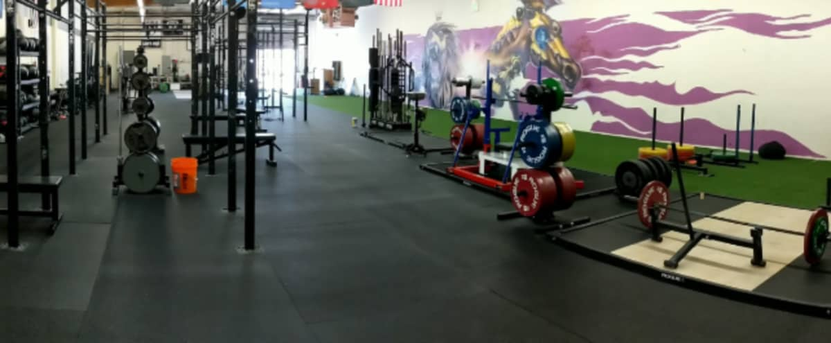 Urban Garage Style Fitness Facility in Hayward Hero Image in undefined, Hayward, CA