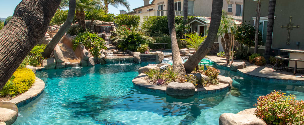 Luxurious Oasis Pool with Mountain View in Simi Valley Hero Image in undefined, Simi Valley, CA