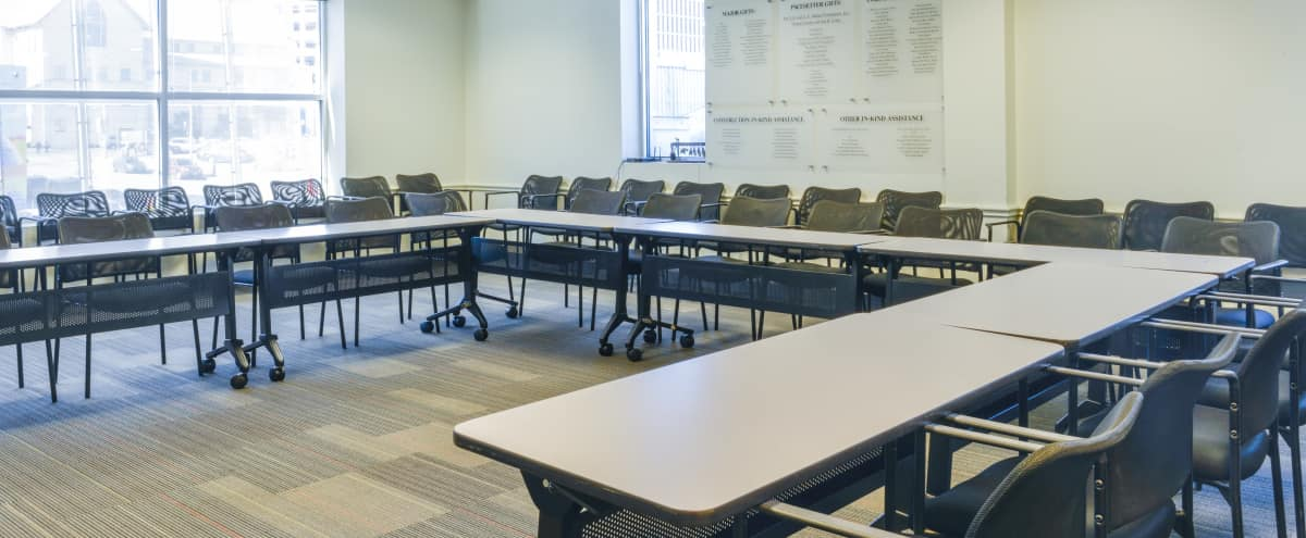 Large Downtown Classroom with Beautiful Natural Light -  5 min walk from Convention Center! in Austin Hero Image in Downtown, Austin, TX