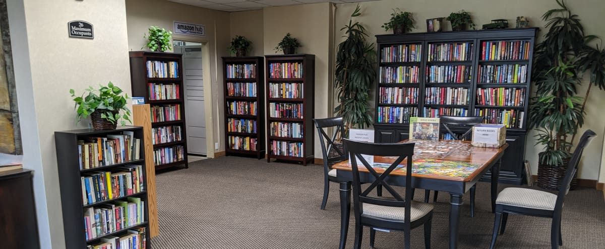 Spacious Library Type Meeting Room - San Mateo in San Mateo Hero Image in Sugarloaf, San Mateo, CA