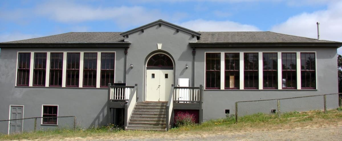 Charming Rural Historic One-room Schoolhouse with Views of Rolling Hills in Valley Ford Hero Image in undefined, Valley Ford, CA