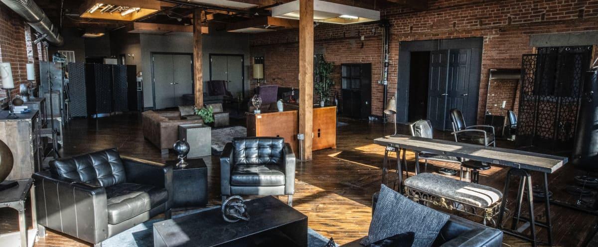 Ironbound Studios Loft 3 Lounge in Newark Hero Image in North Ironbound, Newark, NJ