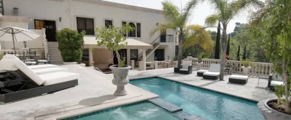 Resort Style Hollywood Hills Mansion Oasis with Pool in Los angeles Hero Image in Studio City, Los angeles, CA