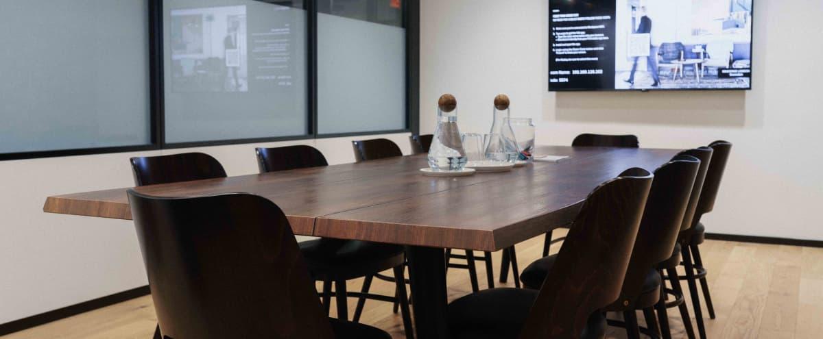 Sleek Modern Meeting Room | M3 in Washington Hero Image in Northwest Washington, Washington, DC
