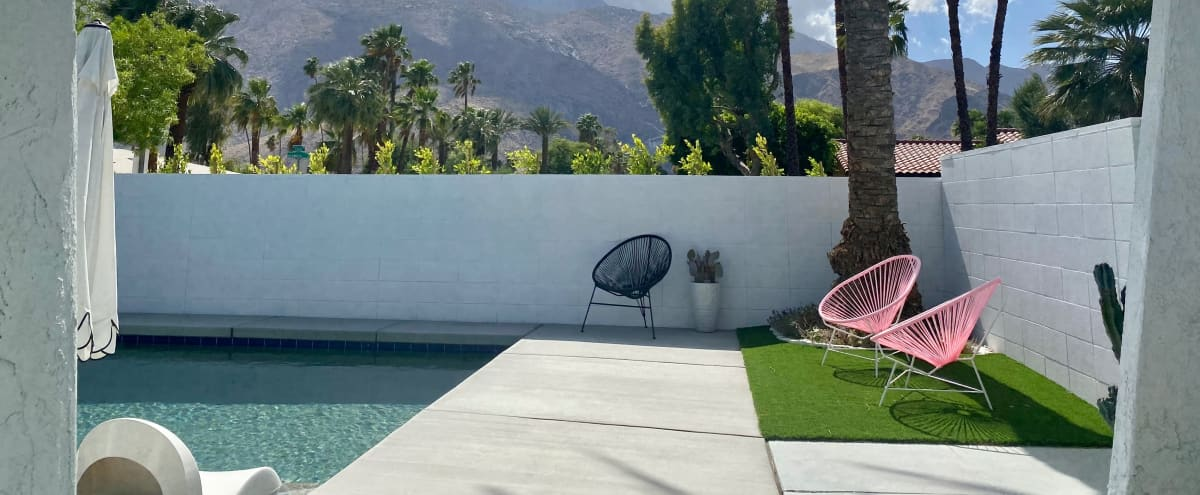 Palm Springs 70s Glam Bungalow with Stellar Views in the Movie Colony in Palm Springs Hero Image in Ruth Hardy Park, Palm Springs, CA