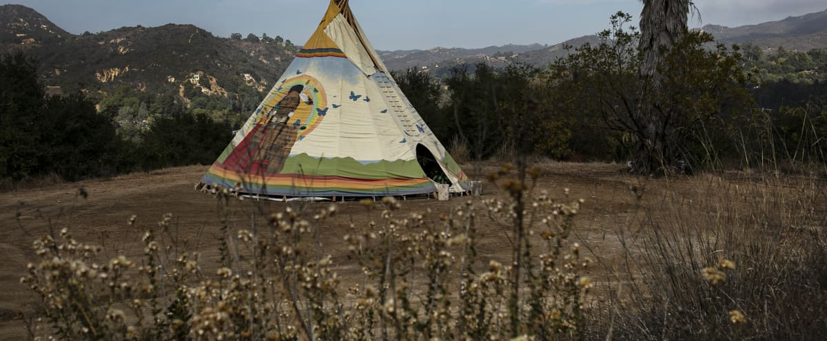 Rainbow Warrior Tipi in topanga Hero Image in undefined, topanga, CA