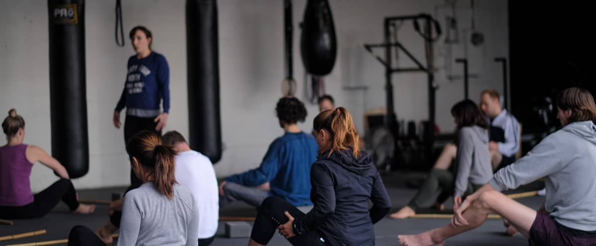 Garage style/Boxing Gym with natural lighting close to the beach in Santa Monica Hero Image in Sunset Park, Santa Monica, CA