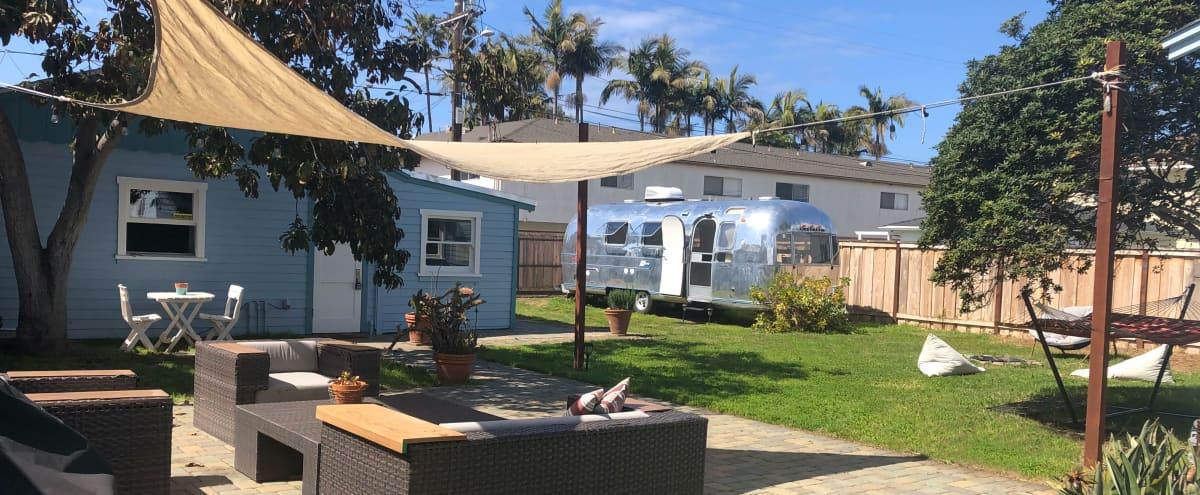 1940s Beach house with an Airstream in Oceanside Hero Image in South Oceanside, Oceanside, CA