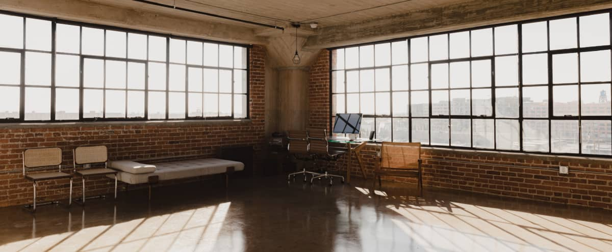 Amazing Arts Industrial District  Corner Loft with Skyline View and Natural Light in Los Angeles Hero Image in Central LA, Los Angeles, LA