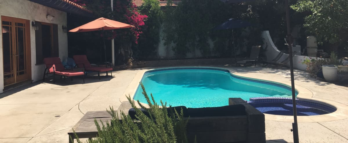 Classic SoCal Pool and Pool House in Sun Valley Hero Image in Sun Valley, Sun Valley, CA