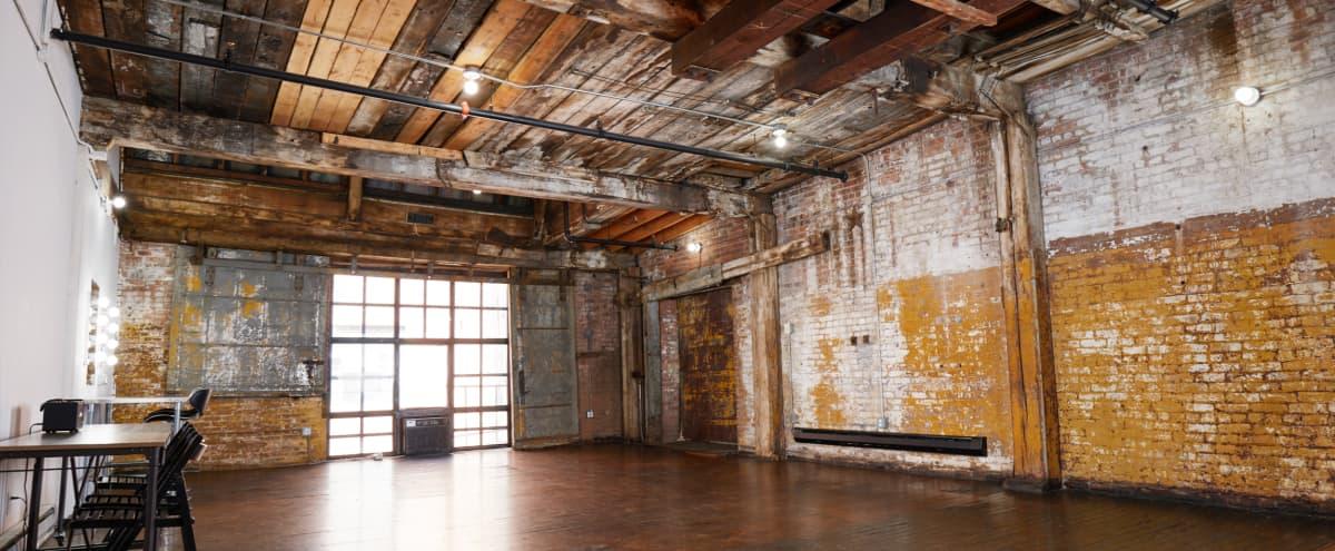 Brooklyn Rental Studio in Industrial Loft in Brooklyn Hero Image in Greenpoint, Brooklyn, NY