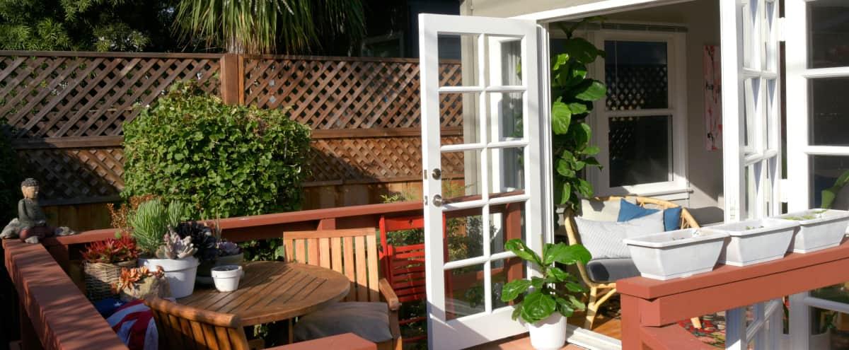 Affordable Abbot Kinney Home ft. Lush Private Garden in Venice Hero Image in Venice, Venice, CA