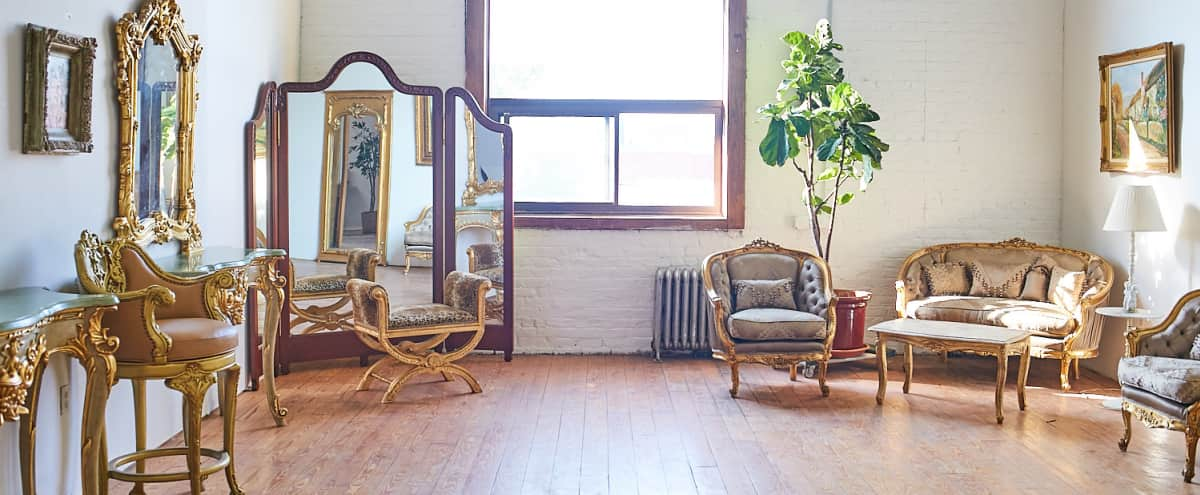 Beautiful Daylight Loft Space with Personality in Brooklyn Hero Image in East Williamsburg, Brooklyn, NY
