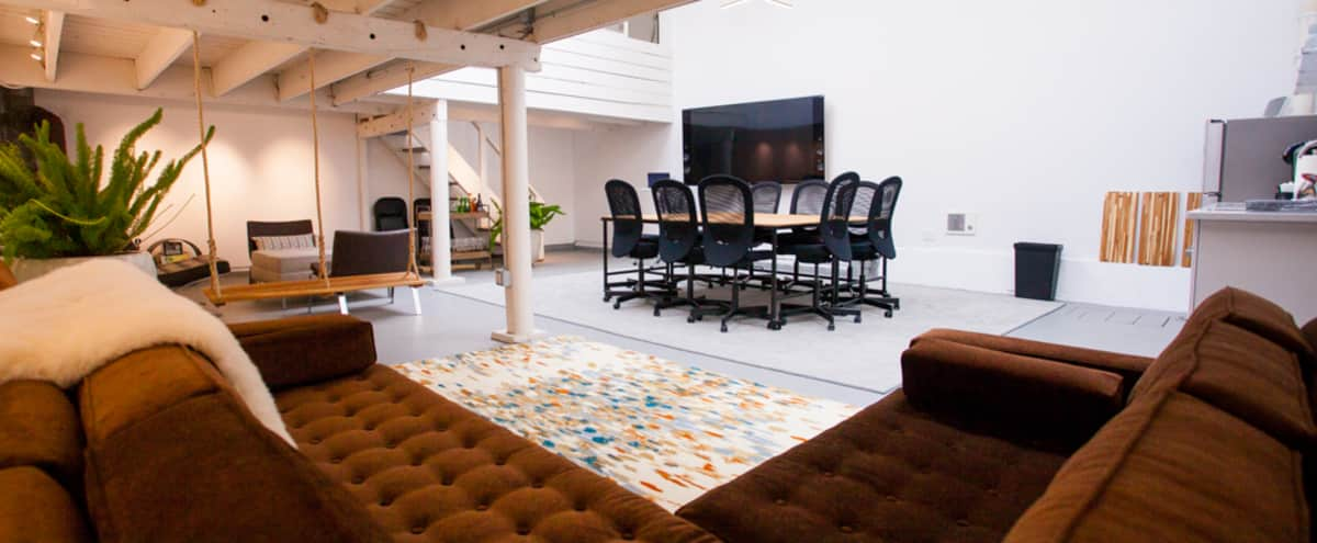 Converted west-SOMA industrial space with natural light in San Francisco Hero Image in South of Market, San Francisco, CA