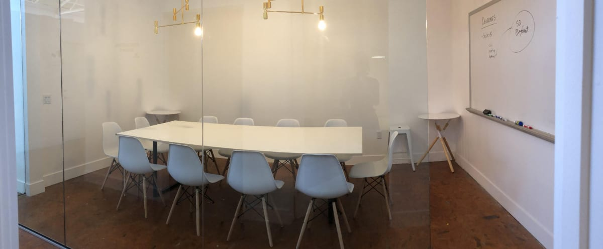 Conference Room in Artistic Co-working Warehouse Near Downtown in San Diego Hero Image in Logan Heights, San Diego, CA