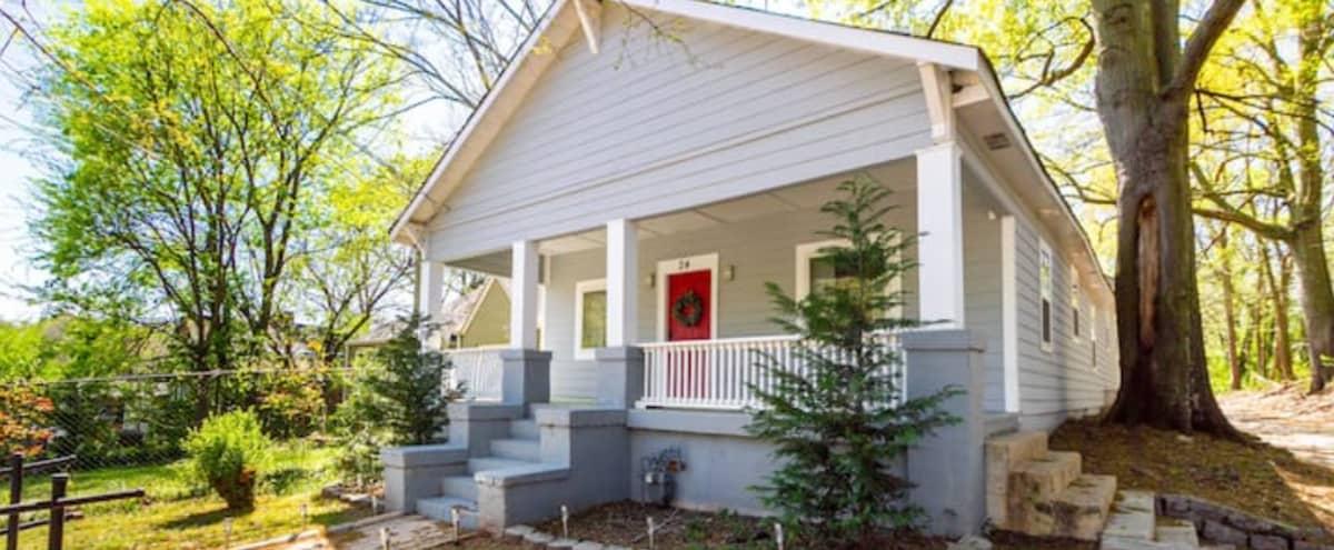 Modern Stylish Home 8 Mins from Downtown in Atlanta Hero Image in Reynoldstown, Atlanta, GA