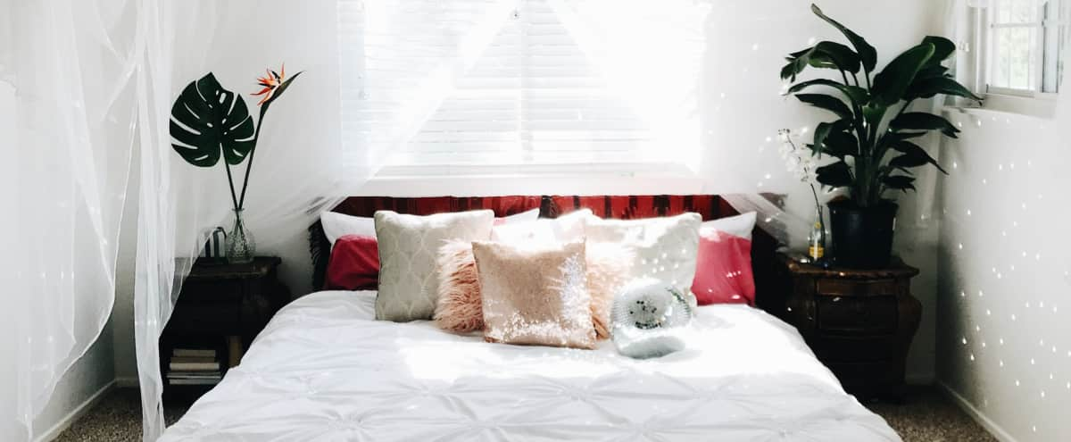Beautiful Bohemian Bedroom and Home for Boudoir Photoshoots | Bohohouse ATX in Austin Hero Image in South Austin, Austin, TX