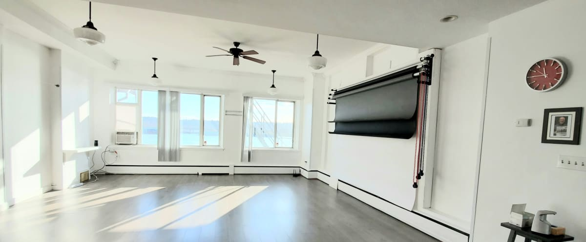 Bright and Modern Studio with River View in New Westminster Hero Image in undefined, New Westminster, BC