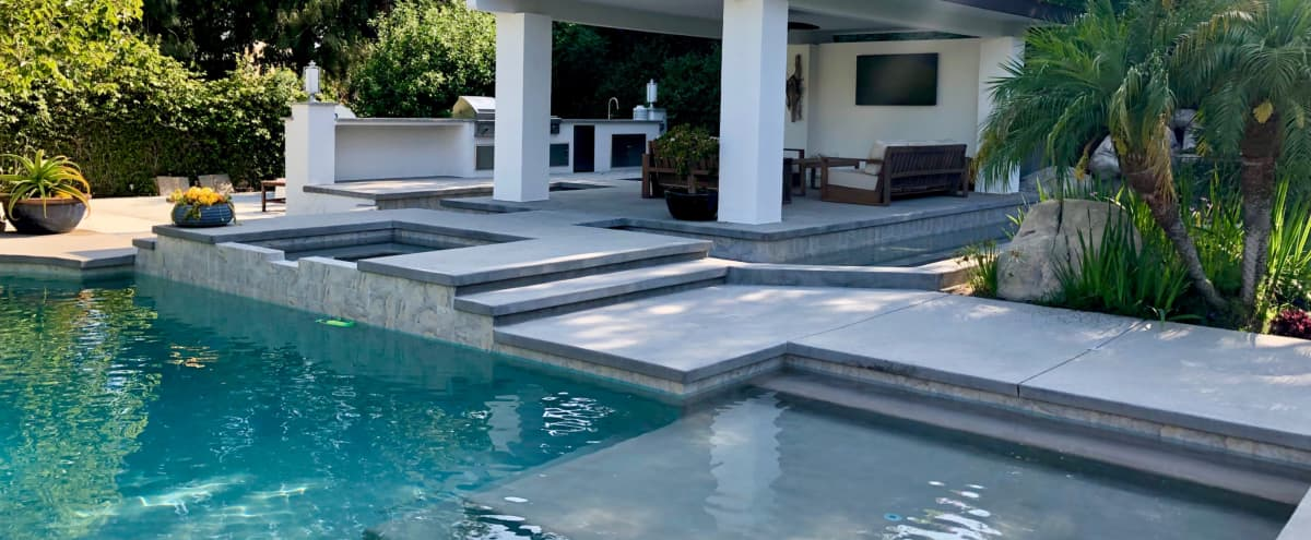 Sophisticated & Upscale Mediterranean Home w/ Zen-like Outdoor Space in Northridge Hero Image in Northridge, Northridge, CA