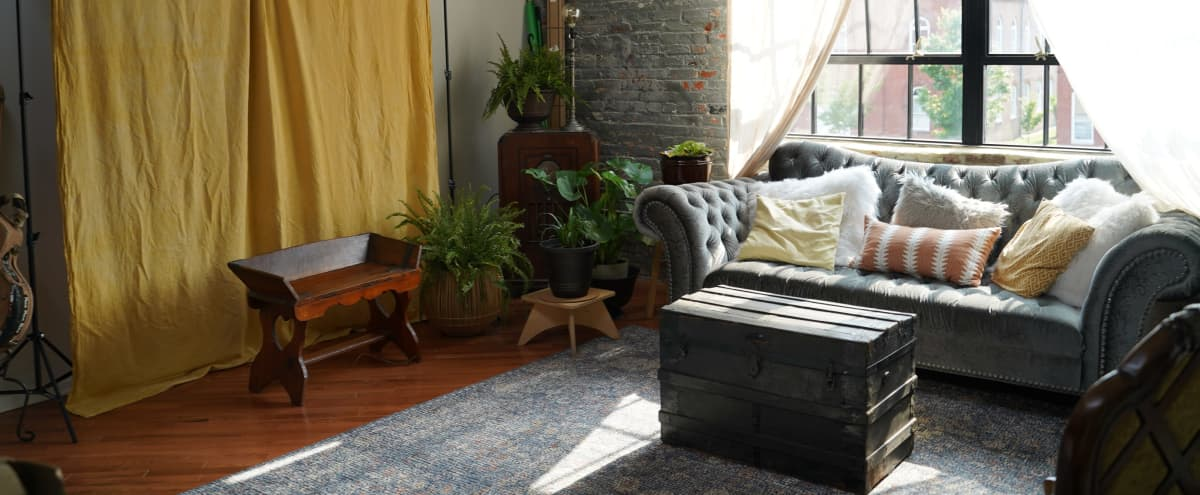 Urban Oasis - Cozy Vintage Loft with Industrial Feel in Baltimore Hero Image in Washington Hill, Baltimore, MD