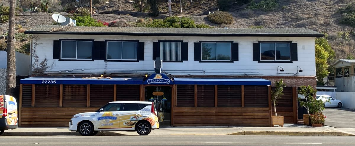 Classic Malibu Restaurant with Back House in Malibu Hero Image in Eastern Malibu, Malibu, CA