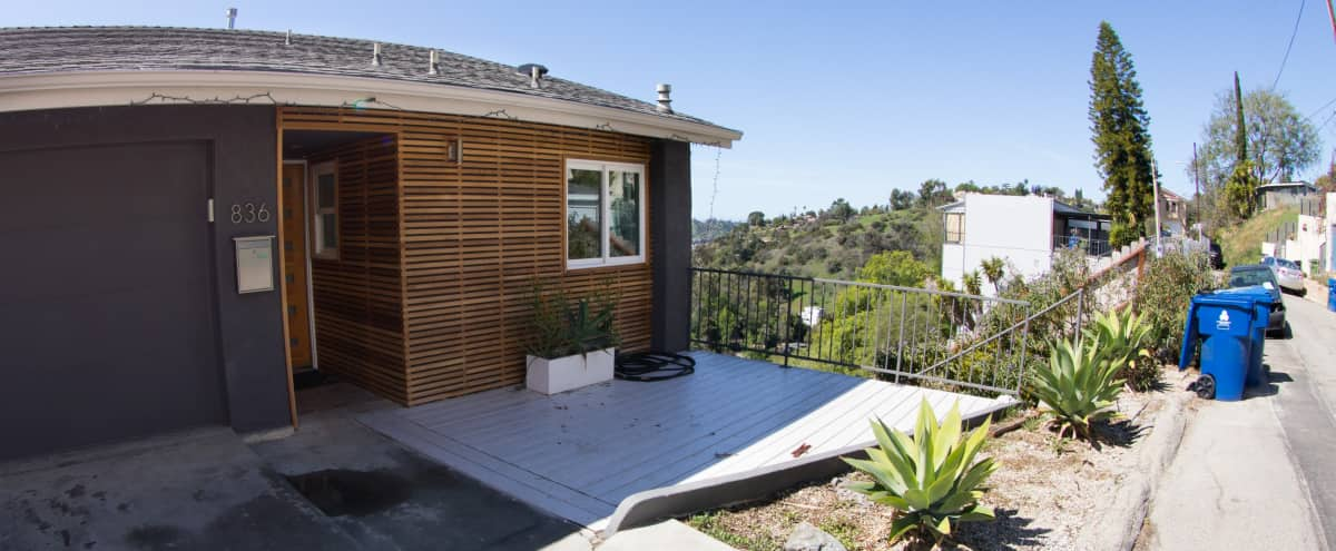 Modern House on Hill in Los Angeles Hero Image in Northeast Los Angeles, Los Angeles, CA