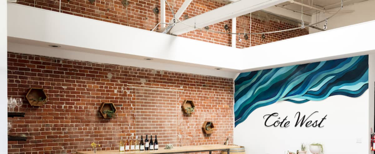 Bright Urban Winery, Vaulted Ceilings, Industrial - Two Available Spaces in Oakland Hero Image in East Peralta, Oakland, CA