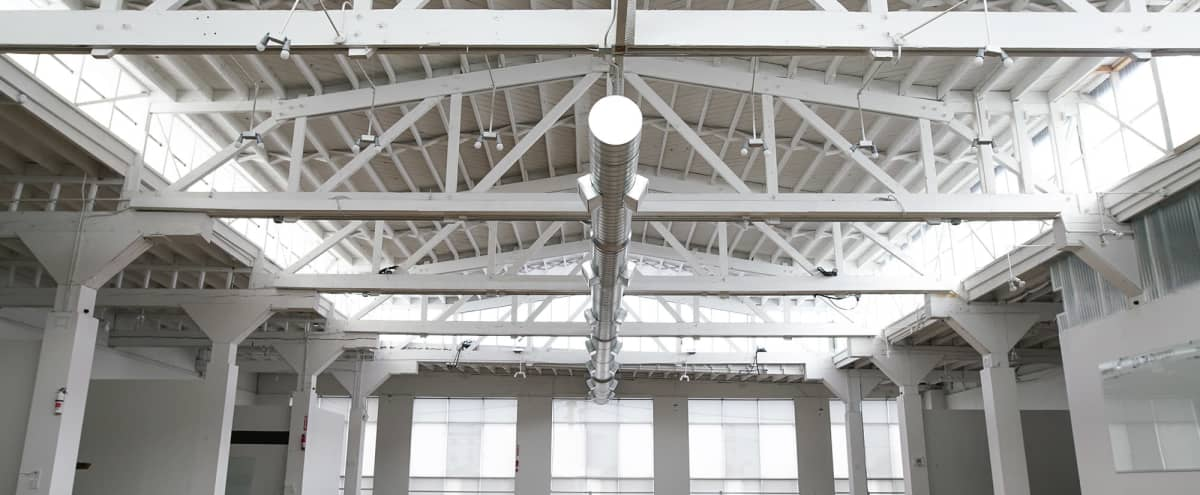 STUNNING INDUSTRIAL SPACE WITH 360° LIGHT in San Francisco Hero Image in Mission District, San Francisco, CA