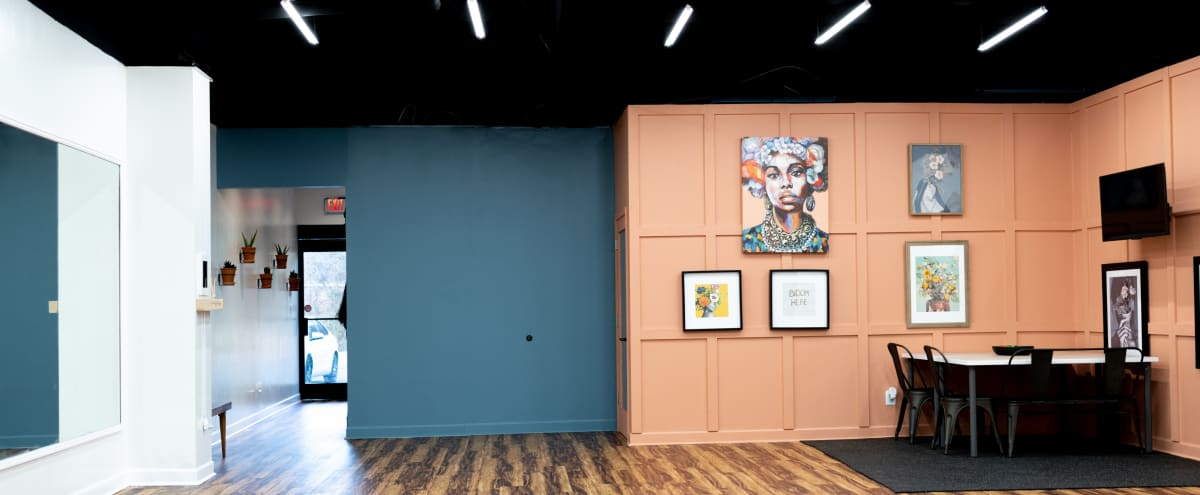 Artsy Event Space in North Charlotte in Charlotte Hero Image in College Downs, Charlotte, NC