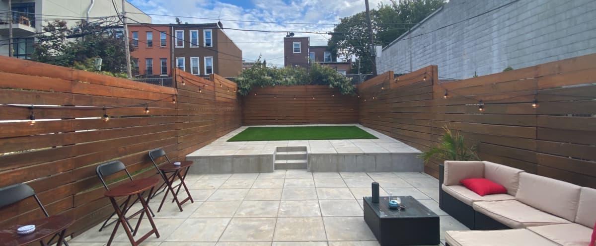 Beautiful Backyard in Ocean Hill in Brooklyn Hero Image in Ocean Hill, Brooklyn, NY