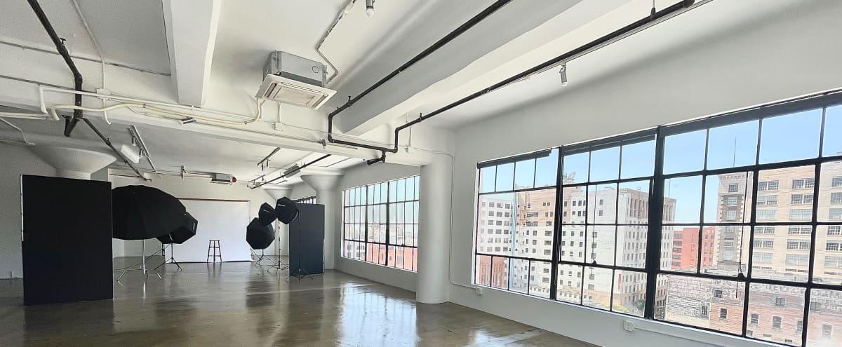 DTLA Loft Studio Suite 2500 Sq ft, Corner Studio with gorgeous views in Los Angeles Hero Image in Central LA, Los Angeles, CA