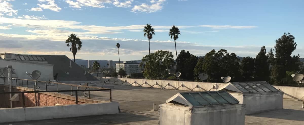 Downtown and City View Roof Top in Los Angeles Hero Image in Mid City, Los Angeles, CA